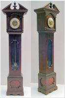 Grandfather Clock by Rockinfroggi