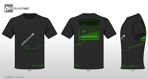 T-Shirt Contest black by VK94