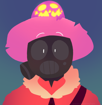 COMMISSION another pyro :v by saveshippingfish