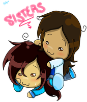 Sisters .:gift:. by TairusuKU