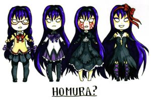 Homura? by I-am-a-strange-loop