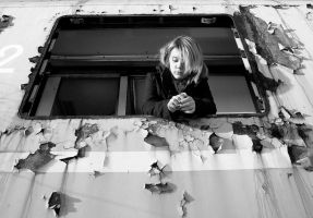 in a window without glass by HeretyczkaA