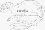 Preview 5: Adult Aqualian lines by noebelle