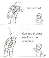 Zombie Protection -12 by andrielisilien