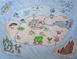 Map as of End of Chap. 15 by Arrowfoot