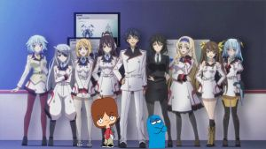 Foster's Home for Infinite Stratos - Group Photo by ian2x4