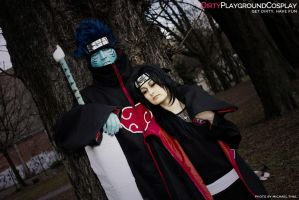 Akatsuki  Kisame And Itachi I by Kakashi-Sensei91
