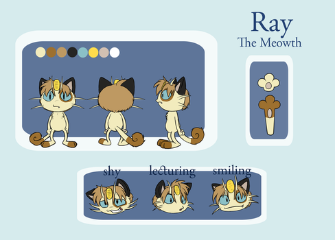 Ray - Reference Sheet by Seraphon