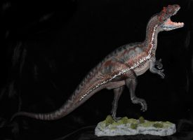 Foulkes Allosaurus full body WIP by arcadian7
