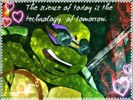 TMNT:: Donnie: Science by Culinary-Alchemist