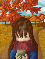Warm colors of Fall by Hiyomi-chan