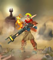 Jak and Daxter by chi-u