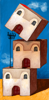 Three Little Houses by altergromit