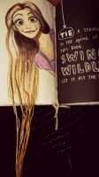 Wreck this Journal -tie string to the spine by gilly15