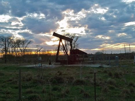 How Those Old Oil Wells Smell in the Wind by mjponso