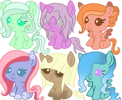 Foals Adopt 3 by CookieDreamAdopts