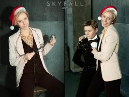 X-mass Skyfall cosplay by MigraineSky