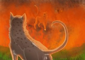 WARRIOR CATS: Ashfur: Let it burn by DarkmoonX-1Yb