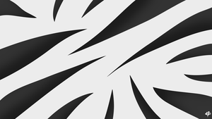 Zebra Inspired Wallpaper by Arvid23