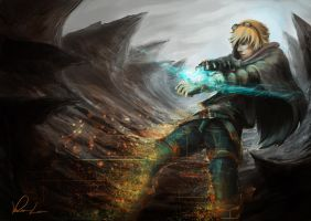 Ezreal - The Little Boy by GreyFox123