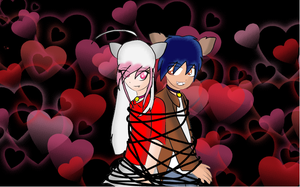 Jesse and Sheba-Tied up :CONTEST ENTRY: by xxJMXPxx