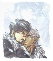 Stay Close - Dragon Age 2 by RoyLover