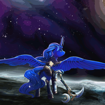 Another Star (animated) - Commission by TheShadowscale