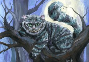 Cheshire Cat by Le-ARi