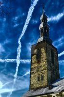 Tower of Blue by Vanquist