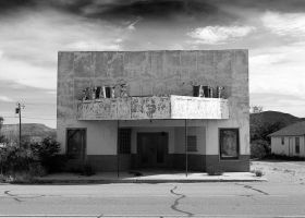 State Theatre, Sierra Blanca by momentspause