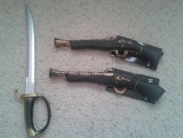Masamune's Weapons(part 1) by Amber2002161