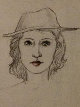 Woman With Hat by sassywitchbitch37