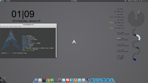 Arch Linux ScreenShot by samiuvic