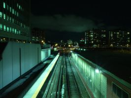 Subway Station by Tripod-Shutter