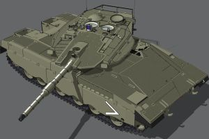Merkava MK III  BAZ upgrade by louielikespie