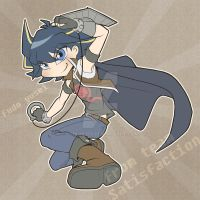 yusei from team Satisfaction by pink-hudy