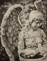 Angels in the Graveyard by PuedoSonar