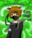 Happy Birthday, 99 by Kyou-Usagi