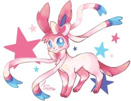 Sweetheart Sylveon by Pink-Angel-Kitty