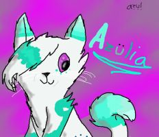 Azulia (new fursona) by Wings-of-Cinder