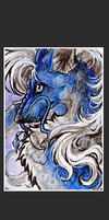 ATC .:BlueDragoness:. by WhiteSpiritWolf