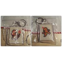 Charmander keychain by horrorfreakjuh