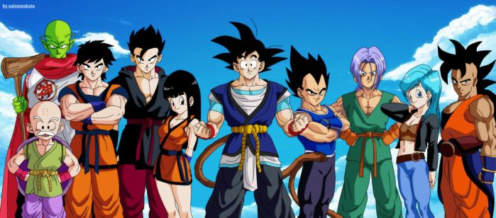 tributo a dragon ball absalon by salvamakoto