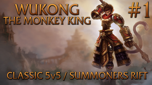 Wukong Thumbnail (League of Legends) by SMPGaming