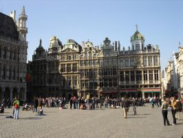 Grand Place by winterschmied