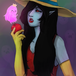 Marceline, the Vampire Queen by fucduck