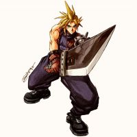 Cloud Strife - by Juanito Medina by JuanitoMedina