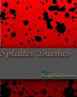 Gimp Splatter Brushes. by zackpro
