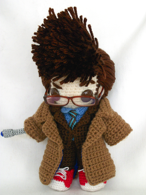 tenth doctor miniplush by MasterPlanner