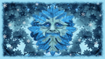 Winter Greenman by The-Pagan-Gallery